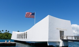 Aloha Pearl Harbor Tour: Pearl Harbor and Arizona Memorial Tour for 1–8 Guests with Transportation from Aloha Pearl Harbor Tour (Up to 53% Off)