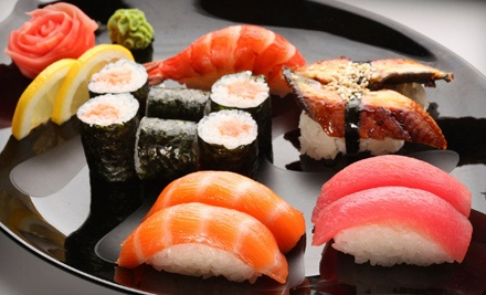 $10 for $20 Worth of Japanese Food at KC Sushi