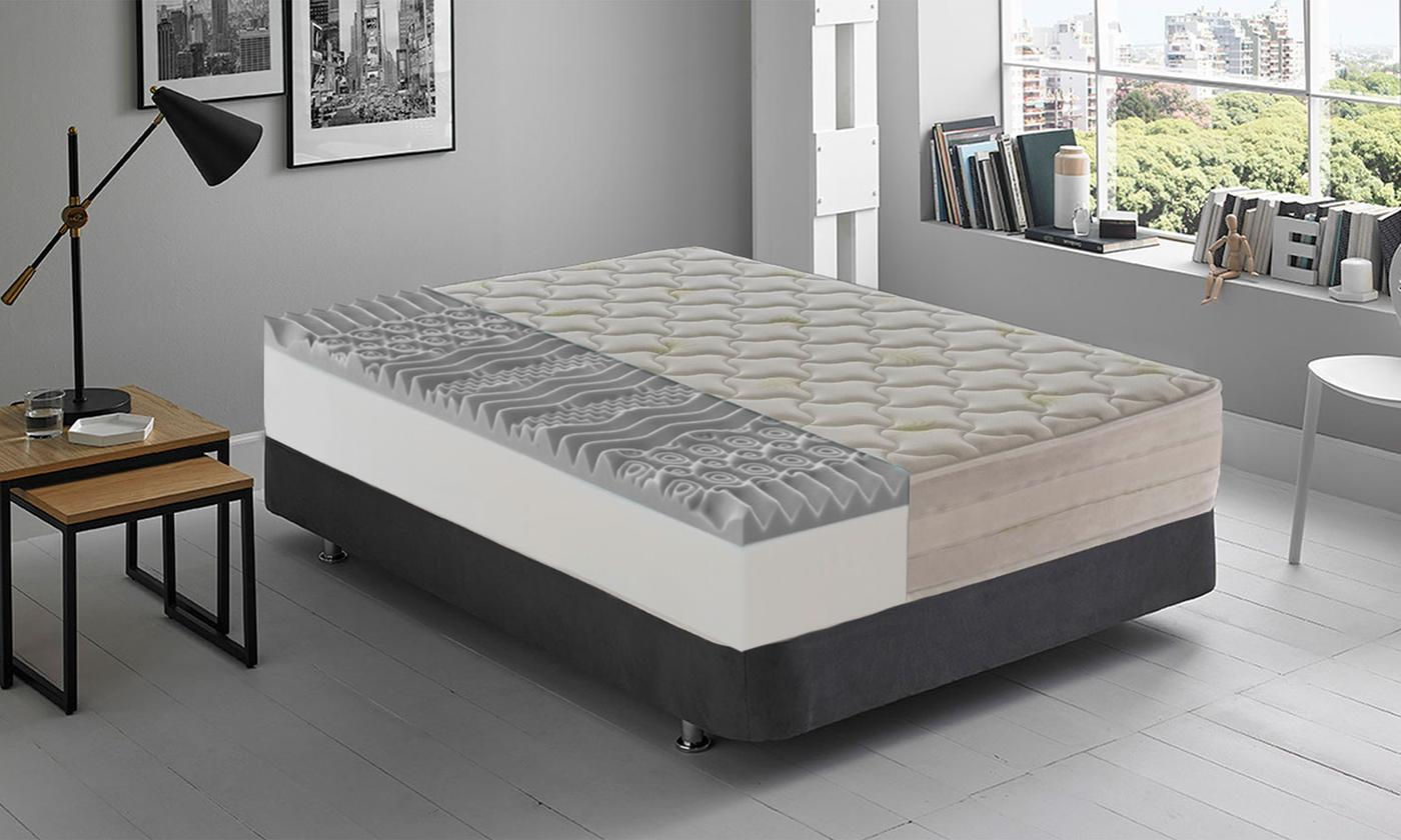 13-Zone Memory Gel Mattress from £109 (82% OFF)