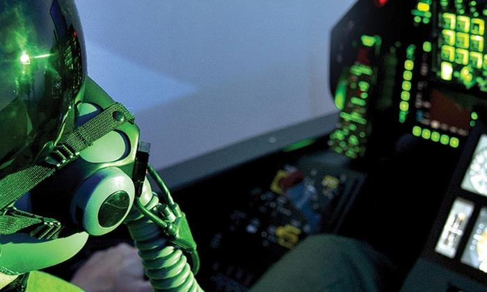 Vol à bord d'un simulateur d'avion de chasse F-16 au choix entre 2, 4 ou 6 sessions ou pack dès 69 €