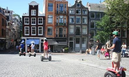 Amsterdam : tour de 90 minutes en gyropode Segway pour 1, 2, 4, 8, 10 ou 15 personnes