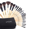Marquee Makeup Brush Set with Black Travel Case (24-Piece)