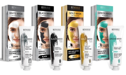 One, Two, or Four Revuele Face Masks