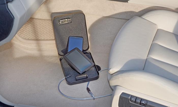 jusqu 39 33 mini coffre fort pour voiture groupon. Black Bedroom Furniture Sets. Home Design Ideas