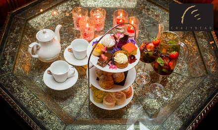 Summer Pimms Royale Afternoon Tea at The Crazy Bear £29.95