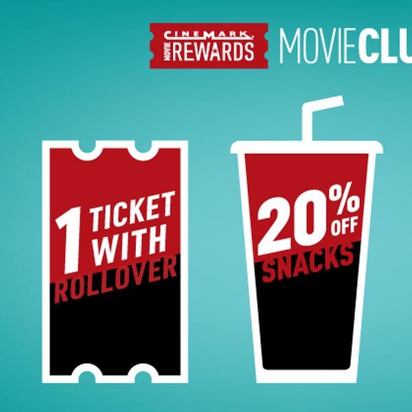 cinemark movie club promo code