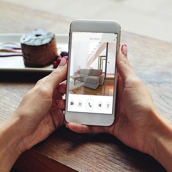 360° Home Security Wi-Fi Wireless Smart HD Camera: 720P ($39 95) or 1080P  ($49 95)