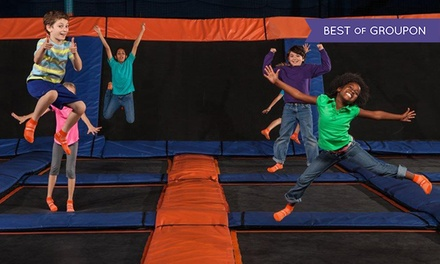 $16 for Two 60-Minute Jump Sessions at Sky Zone Indoor Trampoline Park ($26 Value)