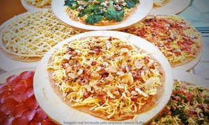 Helena Buffet: Helena Buffet: buffet de pizza em domicílio para 30, 50 ou 80 pessoas