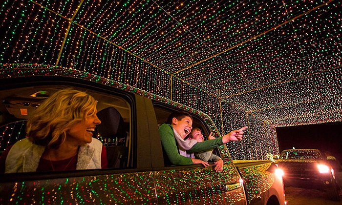 Admission for One Vehicle - Illumination Holiday Drive Thru Light ...
