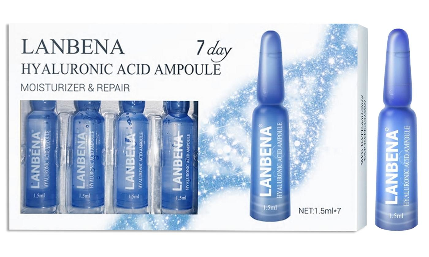 One, Two or Three Packs of Lanbena Hyaluronic Acid Ampoule Serum