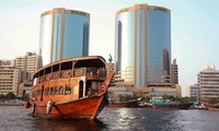 Dubai Creek Iftar Cruise for One, Two or Four with Venus Cruises