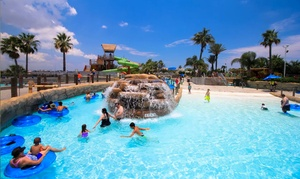 Palm Beach Water Park at Moody Gardens: Palm Beach Water Park for Two, Four, or Six at Moody Gardens (Up to 55% Off)
