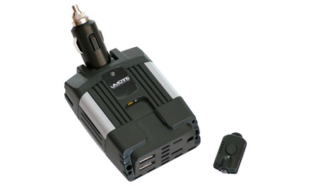uMOVE Automotive Power Inverter With AC Outlet and USB Ports