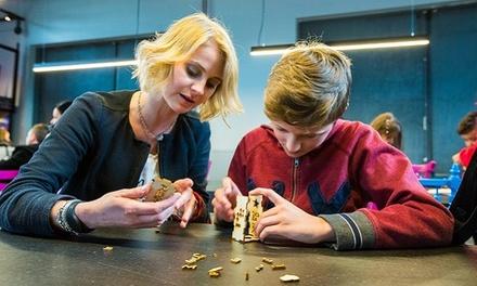 Entrée pour 1 ou 2 adultes et jusqu'à 4 enfants dès 8,99 € au Pass Parc d'Aventures Scientifiques
