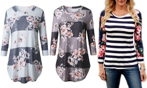 Women's Floral Top at Women's Floral Top, plus 6.0% Cash Back from Ebates.