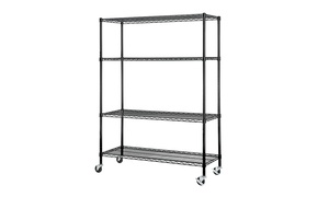 Excel 4-Tier Wire Shelving Unit with Casters at Excel 4-Tier Wire Shelving Unit with Casters, plus 6.0% Cash Back from Ebates.