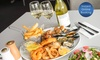 Seafood Platter with Wine for Two