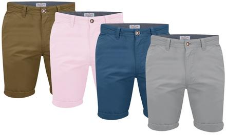Shorts Chino Bedford de la la marque Stallion pour Homme