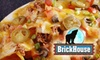 The Brickhouse - University: $7 for $15 Worth of American Fare and Drinks at The Brickhouse Sports Pub