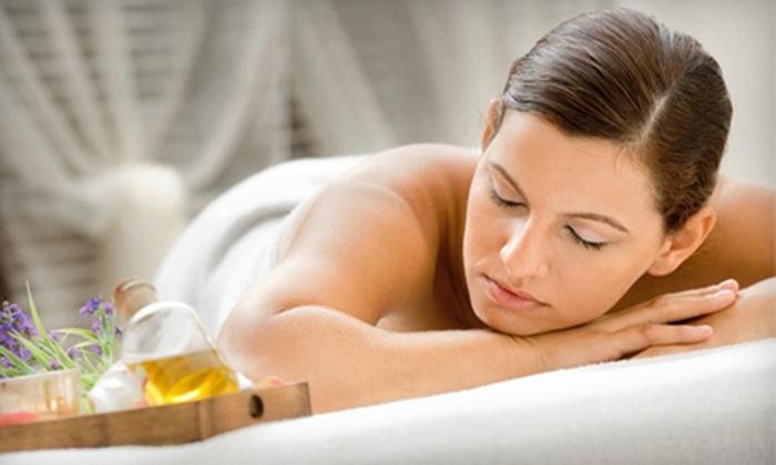 You Nails Salon Spa - Doctor Phillips: Aromatherapy Massage with Sugar Scrub or Hot-Stone Mani-Pedi at You Nails Salon Spa
