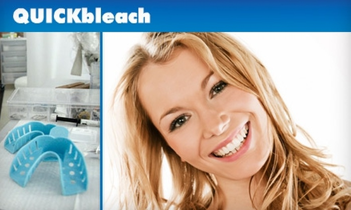 QUICKbleach - Midtown Center: $99 for an At-Home Zoom! Teeth Whitening from QUICKbleach ($249 Value)