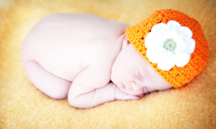 Studio Art Maria - Centrepointe: Three or Four One-Hour Baby-Photo Sessions with Prints at Studio Art Maria (Up to 88% Off)
