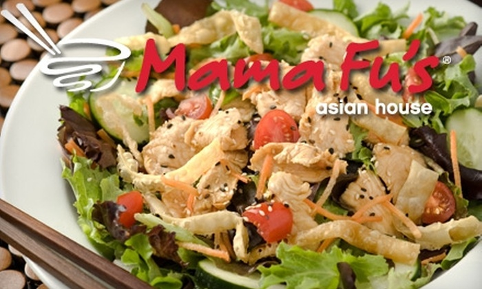 Mama Fu's Asian House - Multiple Locations: $10 for $20 Worth of Pan-Asian Cuisine at Mama Fu's