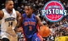 Up to 77% Off Detroit Pistons Tickets