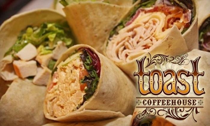 Toast Coffeehouse - Port Jefferson: $10 for $20 Worth of Eclectic Eats at Toast Coffeehouse in Port Jefferson