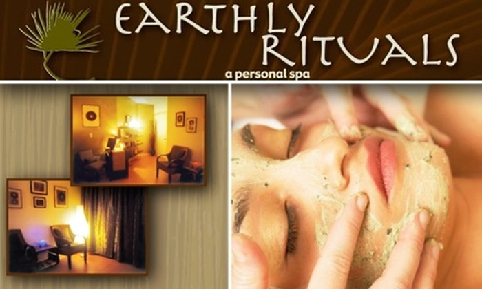 Earthly Rituals - West Queen Anne: $45 for a Mini Facial and a Blissful Back Treatment at Earthly Rituals ($125 Value)