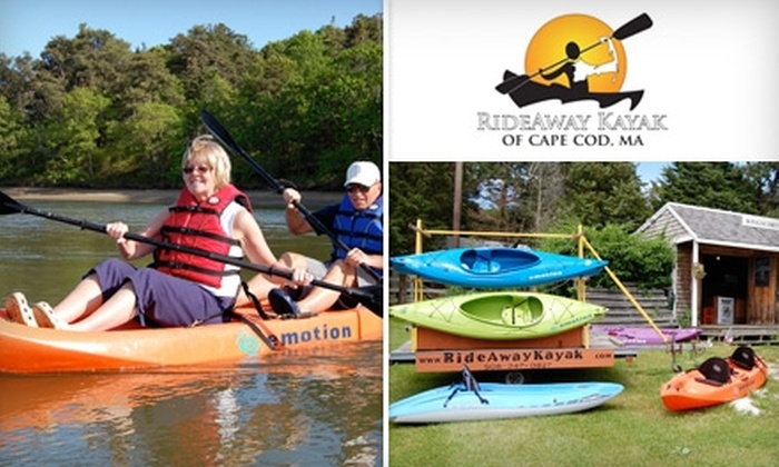 RideAway Kayaks - Sandwich: $45 for a Three-Hour Kayak Tour from RideAway Kayaks