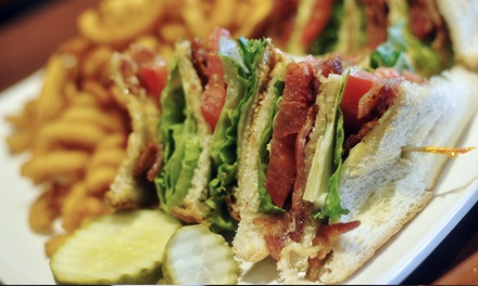 Dine-In or Delivered Casual Food from The Edge Bar and Grill (Up to 45% Off). Five Options Available.