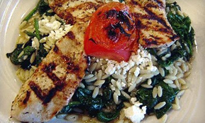 Mykonos Restaurant - North Arlington: $10 for $20 Worth of Authentic Greek Fare at Mykonos Restaurant in North Arlington
