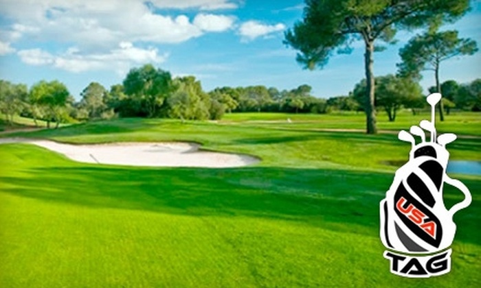 USA BagTag - Fort Worth: $49 for 32 Rounds of Golf in the DFW Area from USA BagTag