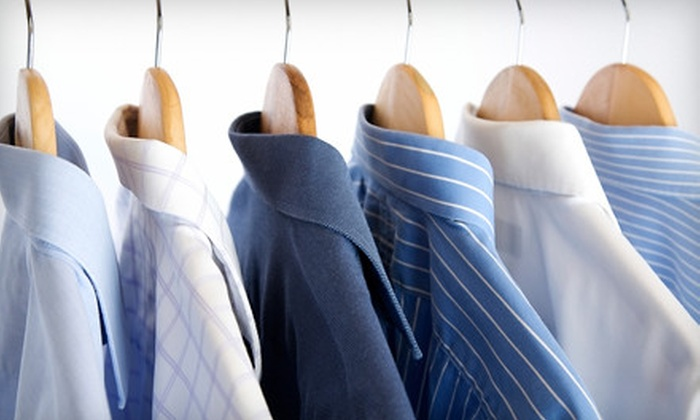 Dry Clean Today - Multiple Locations: Dry-Cleaning Services or Wedding-Gown Preservation at Dry Clean Today (Up to 61% Off). Three Options Available.