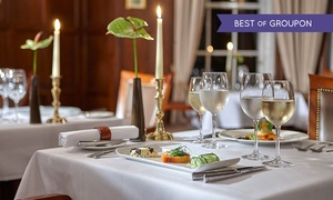 Burnham Beeches Hotel: Five-Course Gourmet Set Dinner With a Glass of Prosecco at Burnham Beeches Hotel (21% off)