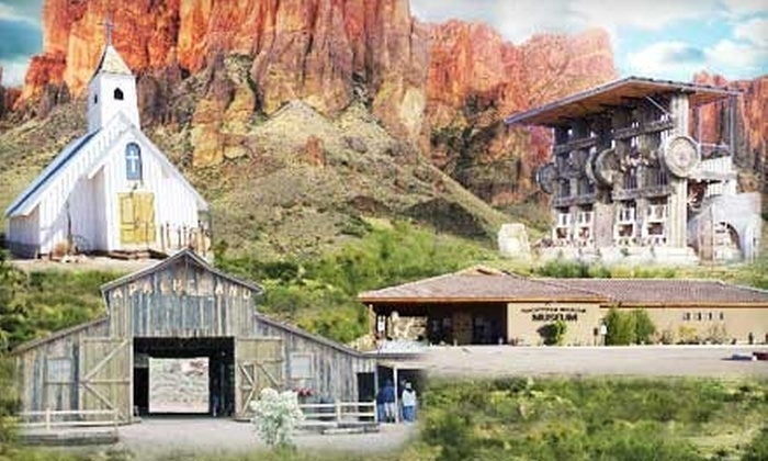 Superstition Mountain Museum - Apache Junction: $5 for Two Admissions to Superstition Mountain Museum in Apache Junction ($10 Value)