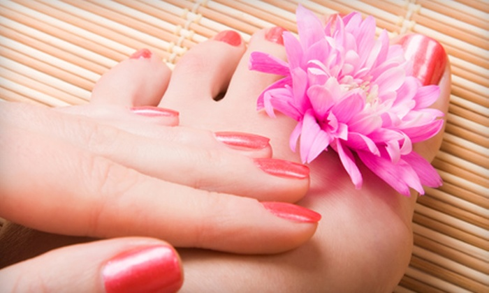 Looks Unlimited Salon & Day Spa - Depot Bench: $30 for a Shellac Manicure and Spa Pedicure at Looks Unlimited Salon & Day Spa ($85 Value)