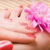 65% Off Shellac Manicure and Spa Pedicure