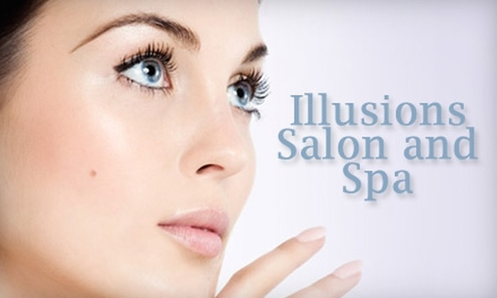 Illusions Salon and Spa - Briargate: $35 for a Salon or Spa Package at Illusions Salon and Spa (Up to $100 Value). Choose One of Five Options.