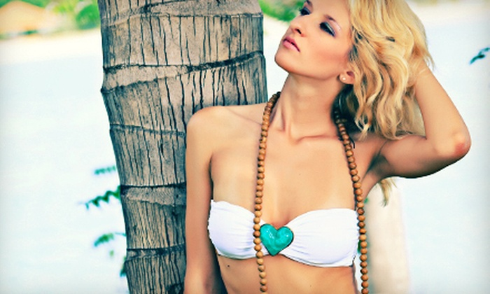 Hollywood Tans - Multiple Locations: Two Mystic Tans or One Month of Unlimited UV Tanning at Hollywood Tans in Davie or Fort Lauderdale (Up to 63% Off)