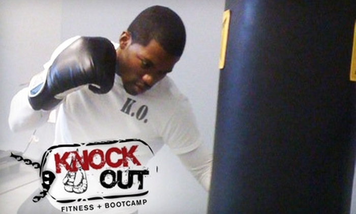 Knock Out Fitness and Bootcamp - Montclaire South: $21 for Three Boxing Classes at Knock Out Fitness and Bootcamp ($60 Value)