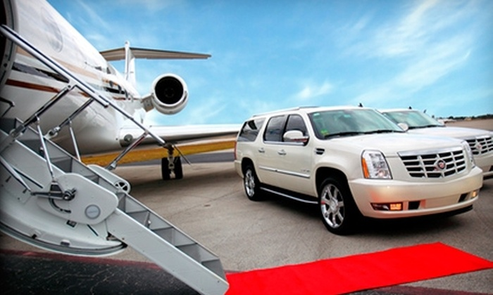 Red Limo - Miami: $75 for $150 Worth of Limo Services from Red Limo