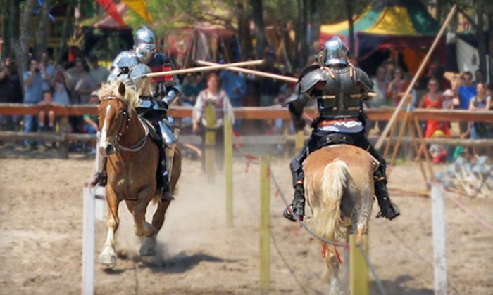 Sherwood Forest Faire - Sherwood Forest: Outing for Two or Four to Sherwood Forest Faire in McDade (Up to 53% Off)