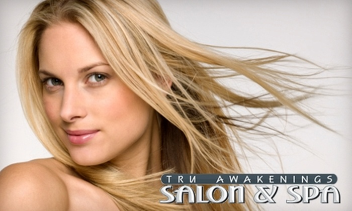Tru Awakenings Salon & Spa - Neighbors Southwest: $30 for $65 Toward Salon and Spa Services at Tru Awakenings Salon & Spa in Beaverton