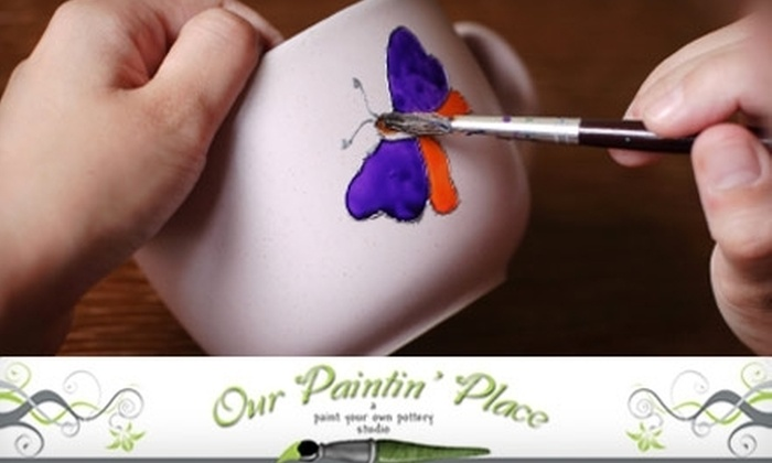 Our Paintin' Place - Wedgewood: $10 for $20 Worth of DIY Pottery Painting at Our Paintin' Place