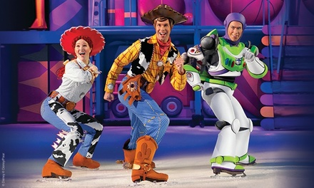Disney On Ice presents Worlds of Enchantment on Friday, April 26, at 7 p.m. or Saturday, April 27, at 11 a.m. or 7 p.m.