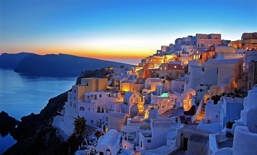 Estate a Santorini: volo a/r diretto , 7 notti e spiaggia ...