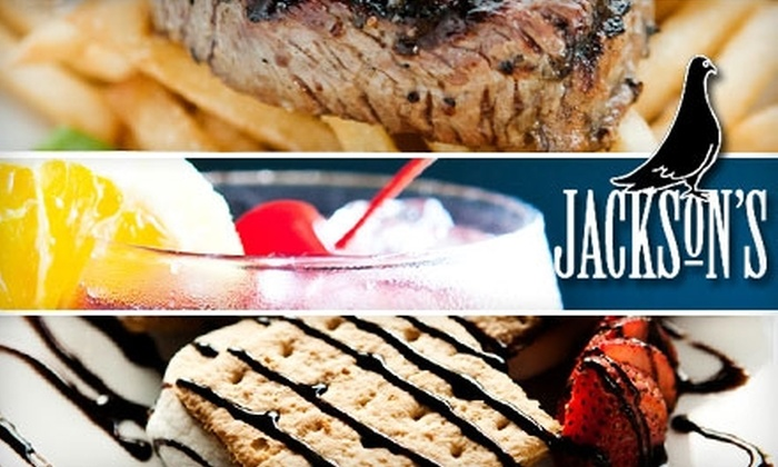 Jackson's Bar & Bistro - Birmingham: $15 for $35 Worth of American and European Fare at Jackson's Bar & Bistro